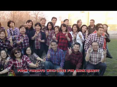 Flashmob From Toronto with Love for Ahok Djarot 2 (ORIGINAL)