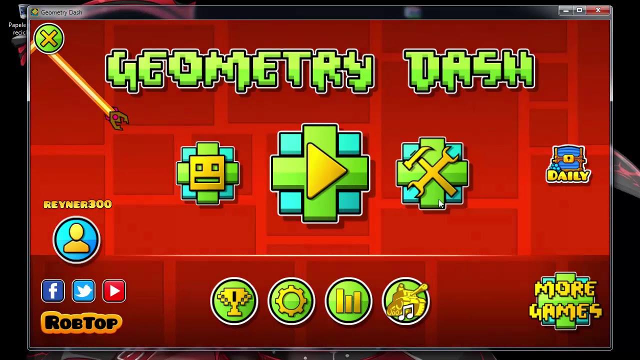 descargar geometry dash ultima version para pc por mega