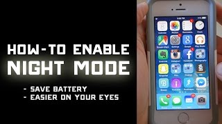 Gambar cover How to Enable Night Mode on iPhone