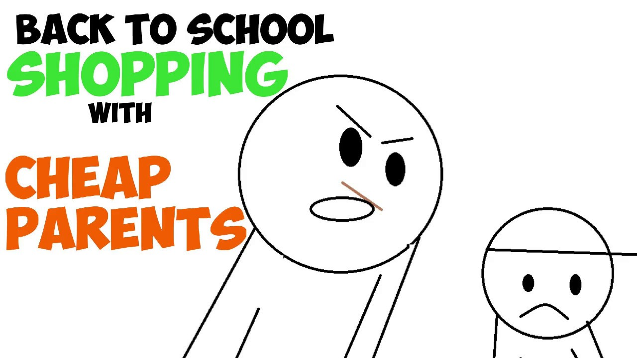 Download Back To School Shopping With CHEAP PARENTS!