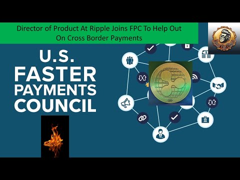 Craig DeWitt Joins U.S. Faster Payments Council to work on Cross Border Payments + Santander ALL IN!