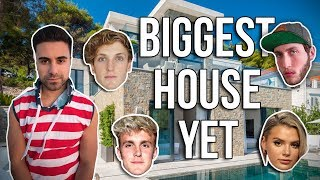 I HAVE THE BIGGEST HOUSE OF ANY YOUTUBER!! *HOUSE TOUR*