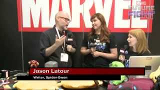 Jason Latour Thanks the Spider-Gwen Fans on Marvel LIVE! at San Diego Comic-Con 2015