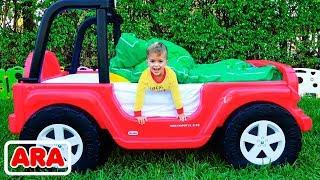العاب الأطفال والسيارة السحرية القابلة للتحول من فلاد ونيكيتا