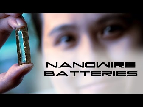 Nanowire Long-Life Batteries - Behold The Future