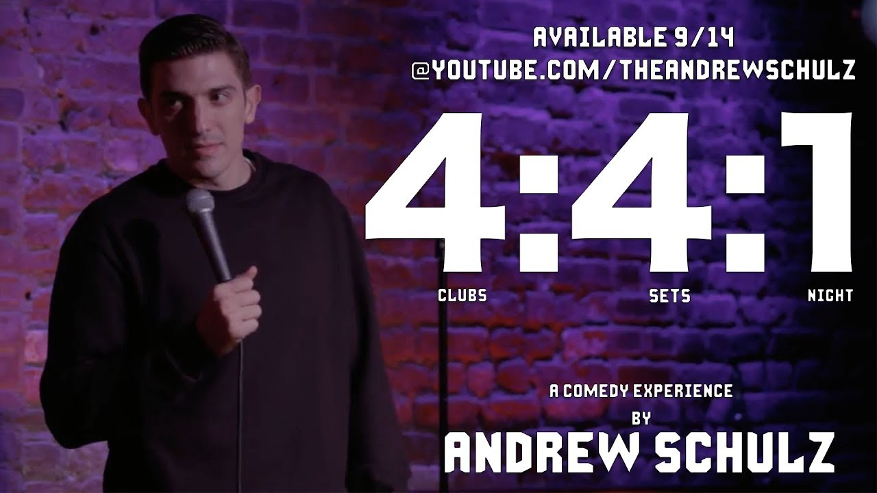 4:4:1 ANDREW SCHULZ COMEDY EXPERIENCE TRAILER 1