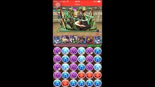 puzzle and dragons challenge dungeons 14 level 10 awoken haku pt