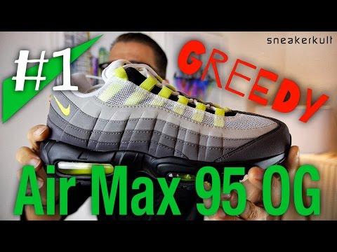 1 Nike Air Max 95 OGGreedy Review sneakerkult | Music
