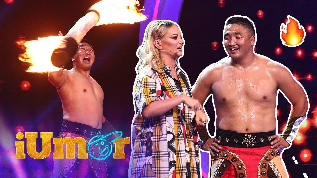 Bâlciul de la sat, la iUmor. Tulga mongolul s-a jucat cu focul și i-a dat pe jurați într-un carusel!