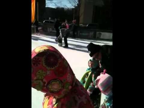 Ice skating bucket part 2