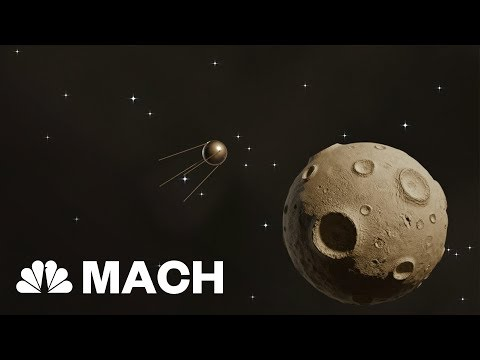 The Sputnik 1 Launch: The First Artificial Satellite To Enter Earth's Orbit | Mach | NBC News