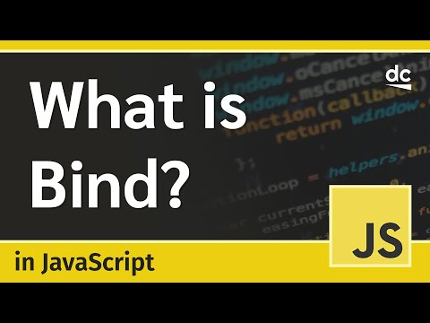 Bind Explained in JavaScript