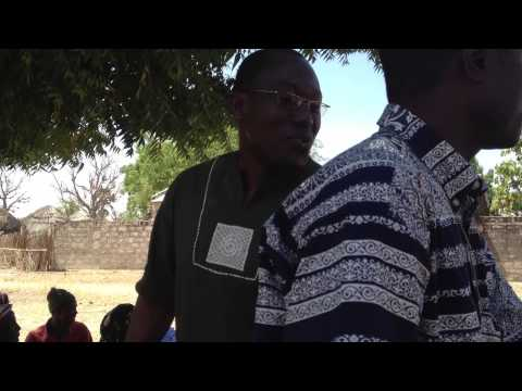Meeting with de Thissen (Kaffrin Region, Senegal) community grandmothers group