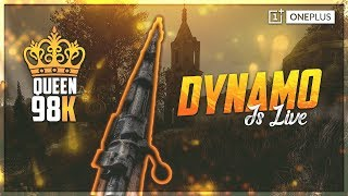 PUBG MOBILE SEASON 9 LIVE WITH DYNAMO | SEASON 9 RANK PUSH | SUBSCRIBE & JOIN ME