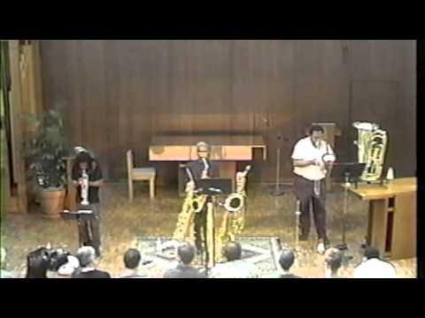 L-R-G (Roscoe Mitchell, George Lewis, Wadada Leo Smith)