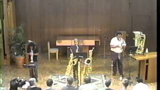 L-R-G (Roscoe Mitchell, George Lewis, Wadada Leo Smith)
