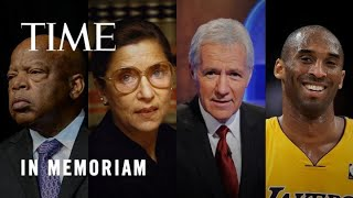2020 In Memoriam: A Tribute To Those We've Lost   TIME