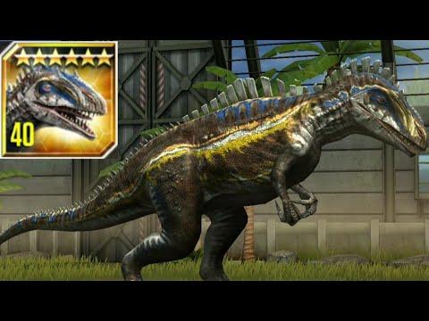 New VIP ACROCANTHOSAURUS Max Level 40 - Jurassic World The Game