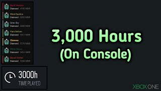 What 3000+ Hours On Console Looks Like : Xbox Diamond - Ranked Highlights - Rainbow Six Siege