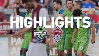 Video Gol Pertandingan Colorado Rapids vs Seattle Sounders FC