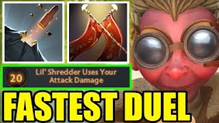 IMBA FASTEST DUEL with NEW HERO 7.23 ! Ability Draft Dota 2