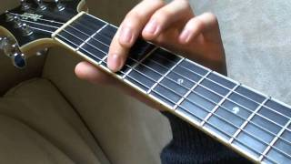 Gtr003: The Five Fret Pattern