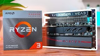 Ryzen 3 3200G Benchmarks with Dedicated Graphics Cards