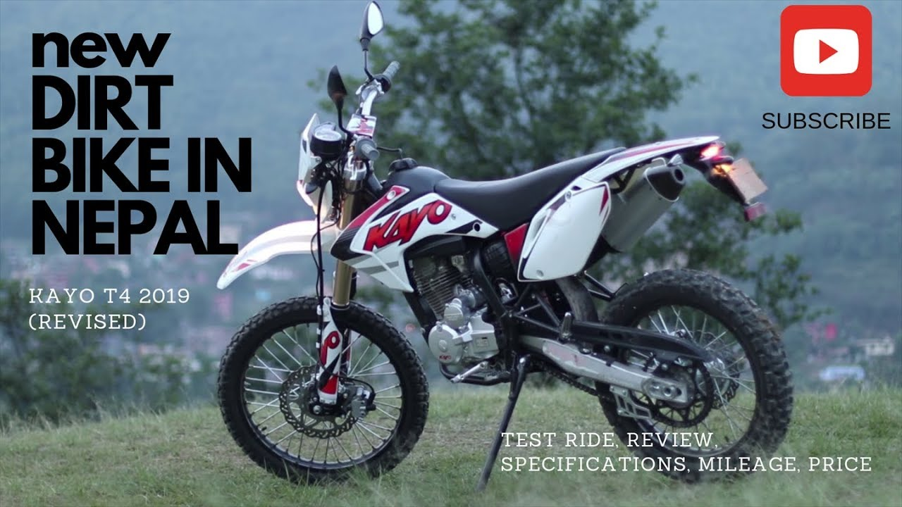 All New Kayo T4 Dirt Bike Test Ride Review In Nepal