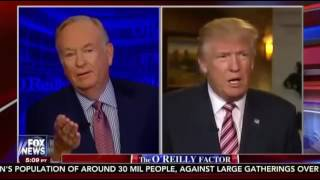 Donald Trump Interview  The O'Reilly Factor 10 11 16
