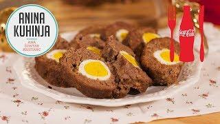 Youtube video Rustikalna Štefani pečenka ali mesna štruca z jajci
