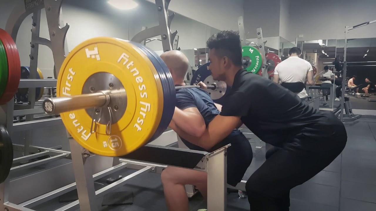 Aaron 130kg Squat = BEAST