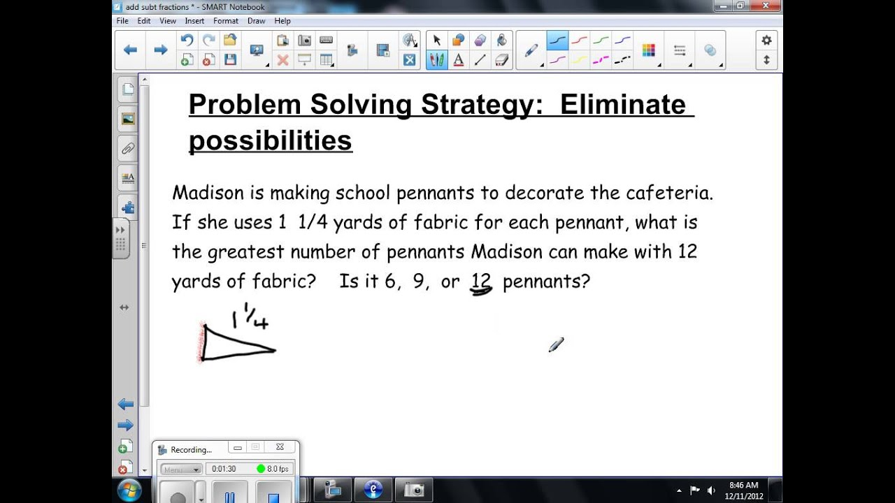 problem solving by eliminating possibilities th problem solving by eliminating possibilities 7th