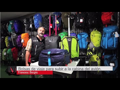 65f832902 Bolsas de viaje para subir a la cabina del avión - YouTube