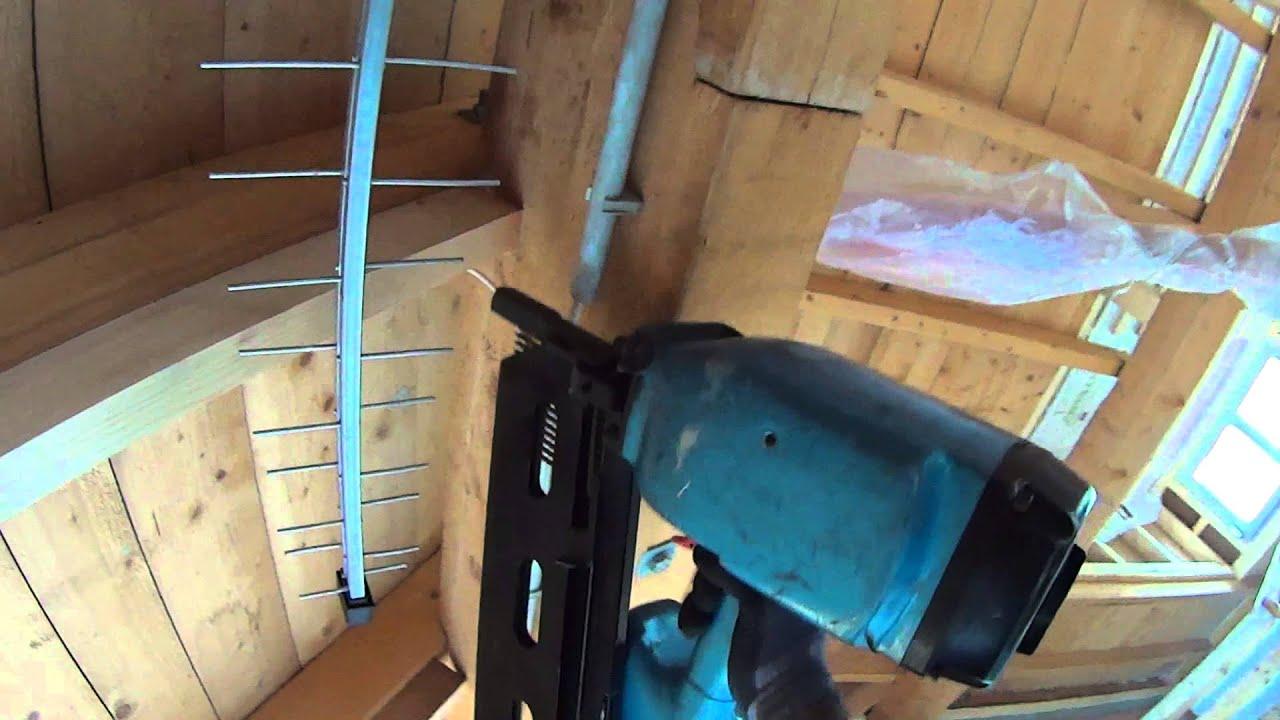 Favorit Dachsparren aufdoppeln, mehr Dämmquerschnitt - YouTube NN42