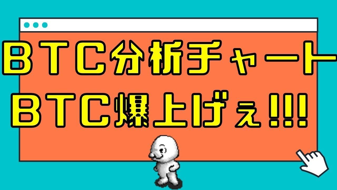 BTC分析チャート BTC爆上げぇ!!! 1