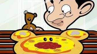 Mr Bean Cartoon: Episode 12 (Pizza Bean) | Mr Bean Episode | Mister Bean Number 1 Fan in HD