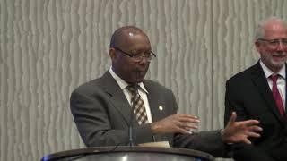Mayor Gives Proclamation to Retired NASA Flight Director Gene Kranz 10-23-18