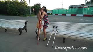 Girlfriends part 3 (park walking) clip