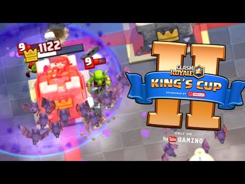 Clash Royale - MIRROR CHALLENGE! & King's Cup II Tips
