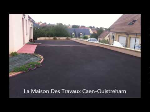 all e de maison garage solution terrassement goudron enrob youtube. Black Bedroom Furniture Sets. Home Design Ideas