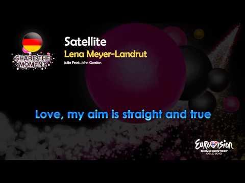 "Lena Meyer-Landrut - ""Satellite"" Germany - Karaoke"