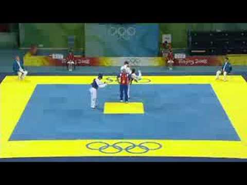 Kazakhstan vs Cuba - Men's +80KG Taekwondo - Extended Highlights - Beijing 2008 Summer Olympic Games