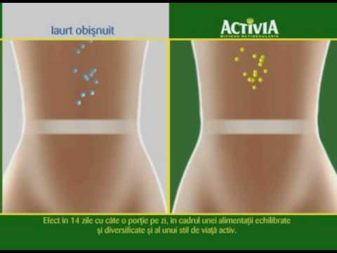activia challenge pierde in greutate
