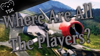 Why War Thunder Has So Few Players | Where Are They All?