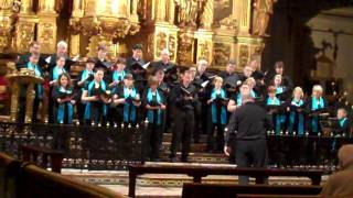 Simon Lindley: Ave Maria - sung by St Peter's Singers of Leeds, directed by the composer