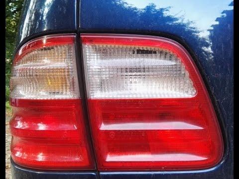 Mercedes W210 S210 Nebelschlusslicht Fehlersuche