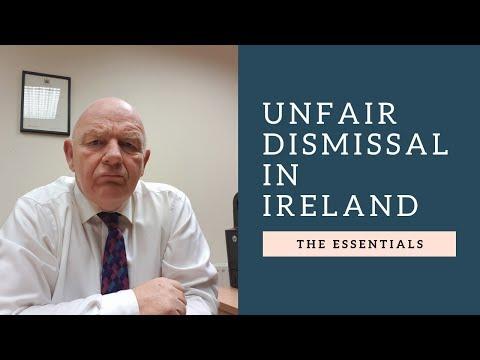 Unfair Dismissal in Ireland-Employment Rights Overview
