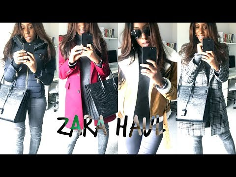 ZARA HAUL & TRY ON – AUTUMN WINTER COAT LOOKBOOK | Style With Substance