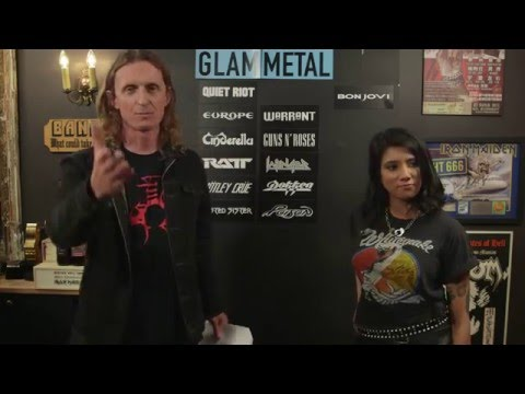 GLAM METAL Essential bands debate with Priya Panda of Diemonds  LOCK HORNS  stream archive