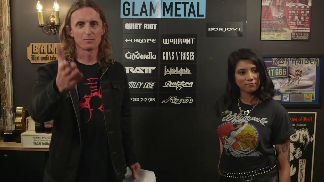 GLAM METAL bands debate with Priya Panda of Diemonds | LOCK HORNS episode thumbnail